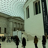 The awesome great court in the British Museum.