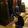 Bells in North stairwell.