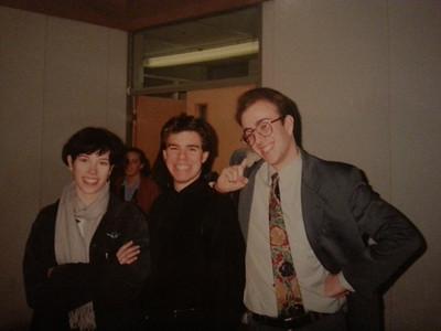 Sarah, Neville, and Matt.