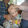 Graham getting his first haircut<br /> 3/20/2011