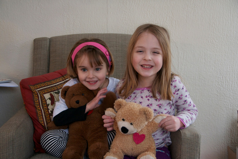 March 2, 2012<br /> Millie and Eve at a Share Bear playdate