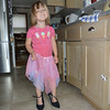 """Eve loves wearing my """"wedding shoes""""<br /> 6/8/2010"""