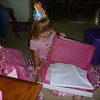 Opening her presents<br /> 6/6/2010