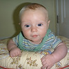 Graham on the boppy pillow<br /> 6/16/2010