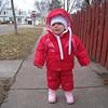 November 19<br /> New snowsuit, still unhappy