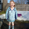 A brief thaw and new boots - going to ballet class.<br /> February 17, 2011