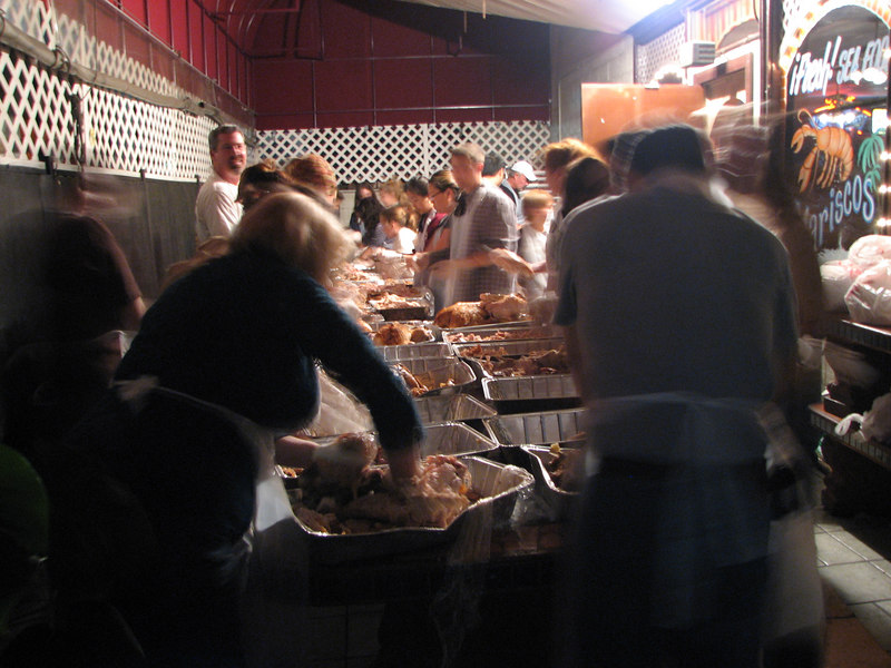 2006 11 22 Wed - Random people with turkeys