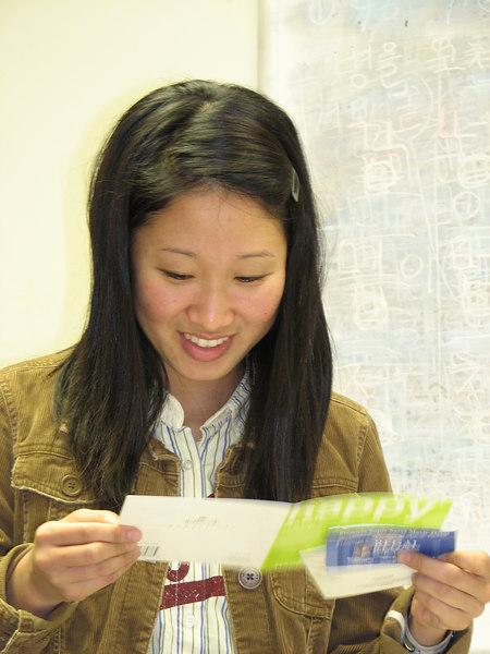 2007 03 09 Fri - Stella Lee reads