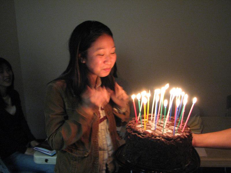 2007 03 09 Fri - Stella Lee makes a wish