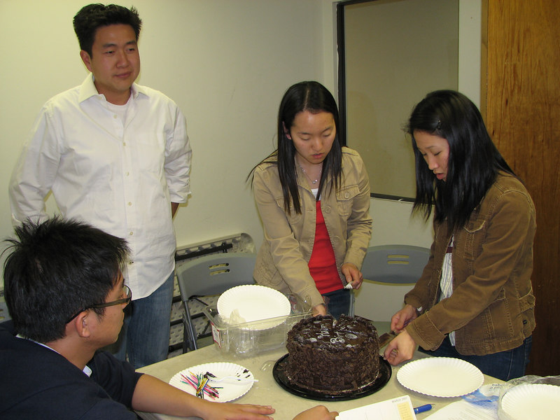 2007 03 09 Fri - Kuni Onishi, Dan Pak, Grace Park, & Stella Lee