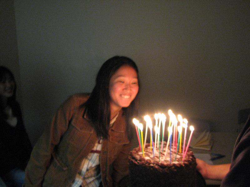 2007 03 09 Fri - Stella Lee likes candles