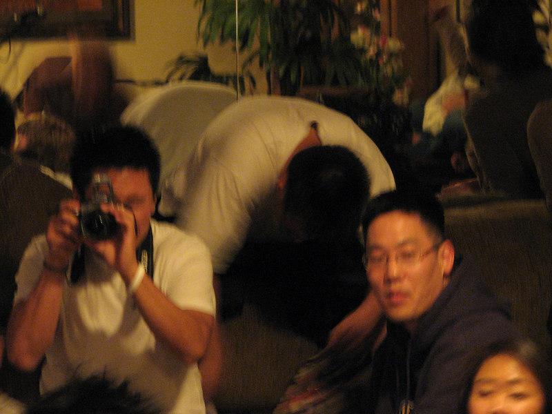 2007 03 30 Fri - Brian Suh snapping a pic