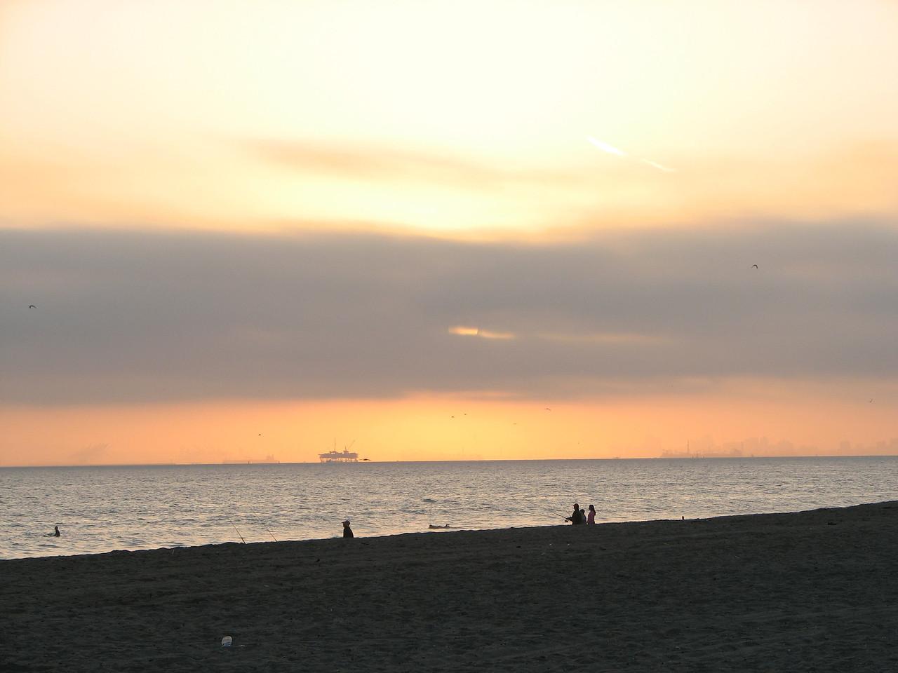 2007 06 22 Fri - Normal sunset