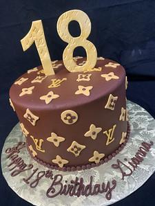 Stupendous Adult Birthday Cakes A Slice Of Heaven Custom Cakes Sarasota Personalised Birthday Cards Epsylily Jamesorg