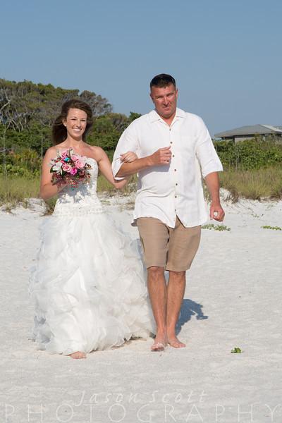 Ashley and Hunter on Anna Maria Island, May 2014