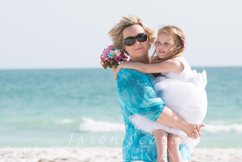 Ashley and Hunter on Anna Maria Island, May 2014