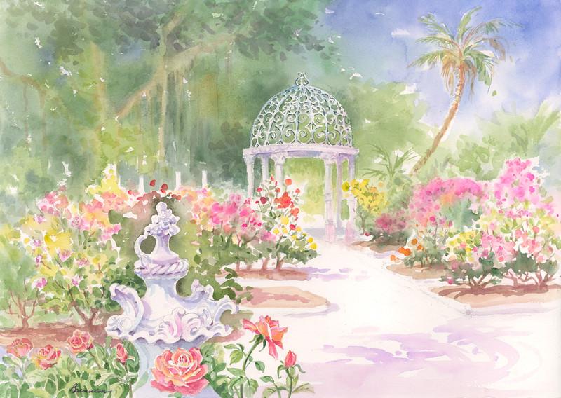 The Ringling Rose Garden