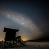 Milky Way Over Siesta Key Beach