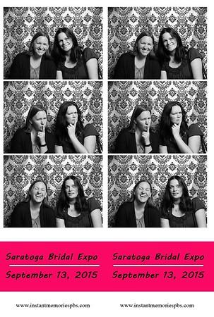 Saratoga Bridal Expo 9-13-15