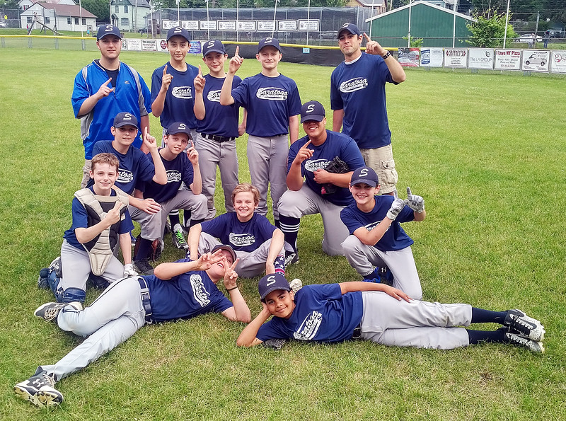 STAN HUDY - SHUDY@DIGITALFIRSTMEDIA.COM<br /> The PBA Saratoga Springs Little League majors squad proved that they are No. 1 after a 3-0 win over Crest Care in the recreation league title contest Thursday night at West Side Recreation Park.