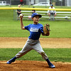 STAN HUDY - SHUDY@DIGITALFIRSTMEDIA.COM<br /> HT Lyons pitcher fires towards home during the Minors AA championship game against Julie & Co. Realty.