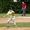 STAN HUDY - SHUDY@DIGITALFIRSTMEDIA.COM<br /> Crest Care pitcher Orion Lansing fires towards home during the Majors championship game against PBA at Saratoga Springs Little League.