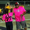 STAN HUDY - SHUDY@DIGITALFIRSTMEDIA.COM<br /> Saratoga Miss Thunder Red 10U Coach Dave Soltis and Sarah Decker