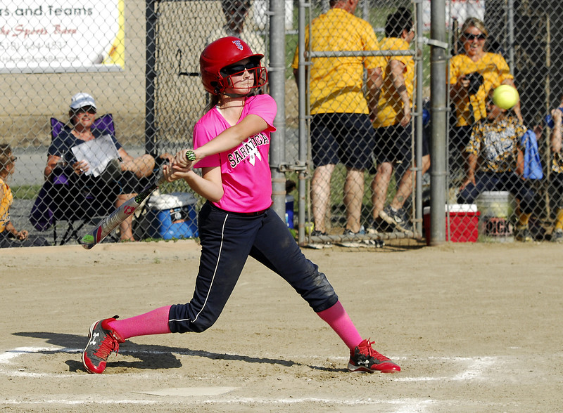 STAN HUDY - SHUDY@DIGITALFIRSTMEDIA.COM<br /> Saratoga Miss Thunder Red 10U - Megan Harrington