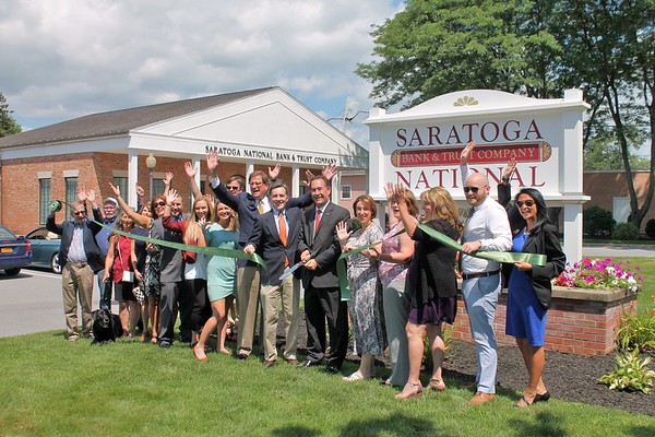 Saratoga National Bank 30th anniversary