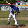 STAN HUDY - SHUDY@DIGITALFIRSTMEDIA.COM<br /> Saratoga National Little League all-star pitcher Evan Ash fires towards home against Mechanicville-Stillwater Little League Saturday morning in District 11/12 10-11-12 competition.