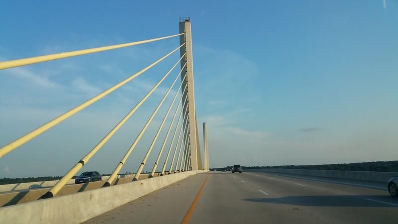 James River southbound Chester Va