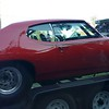 1969 GTO  being trailered on Rt 301 Richmond Va