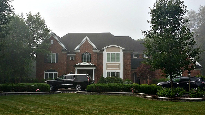 nephew Frank's house rental while in Saratoga Springs, NY