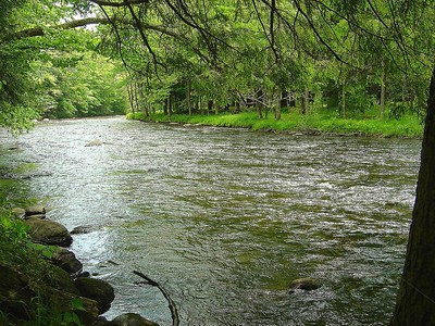 Happy Spot / Kayaderosseras Creek / The Adirondacks Collection / 2006 Spring