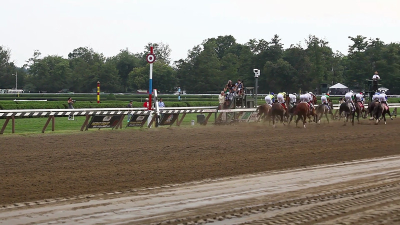 they're off! travers stakes 2012