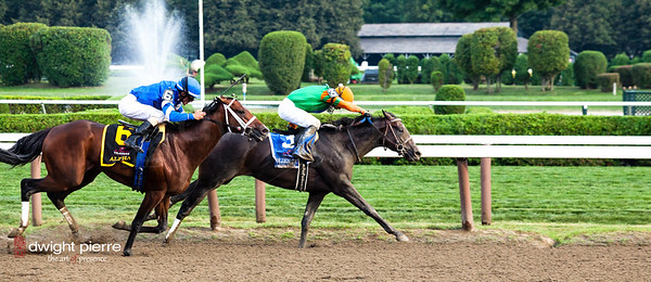 travers stakes 2012 final stretch