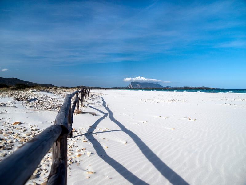 La Cinta, Isola Tavolara in distance, San Theodoro, Sardinia<br /> Olympus E-420 & Zuiko 12-60mm/2.8-4.0