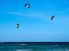 Kitesurfing, La Cinta, San Theodoro, Sardinia<br /> Olympus E-420 & Zuiko 12-60mm/2.8-4.0