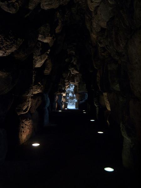 corridor in the Santu Antine nuraghic complex, near Torralba<br /> <br /> Olympus E-600 & Zuiko 12-60mm/2.8-4.0