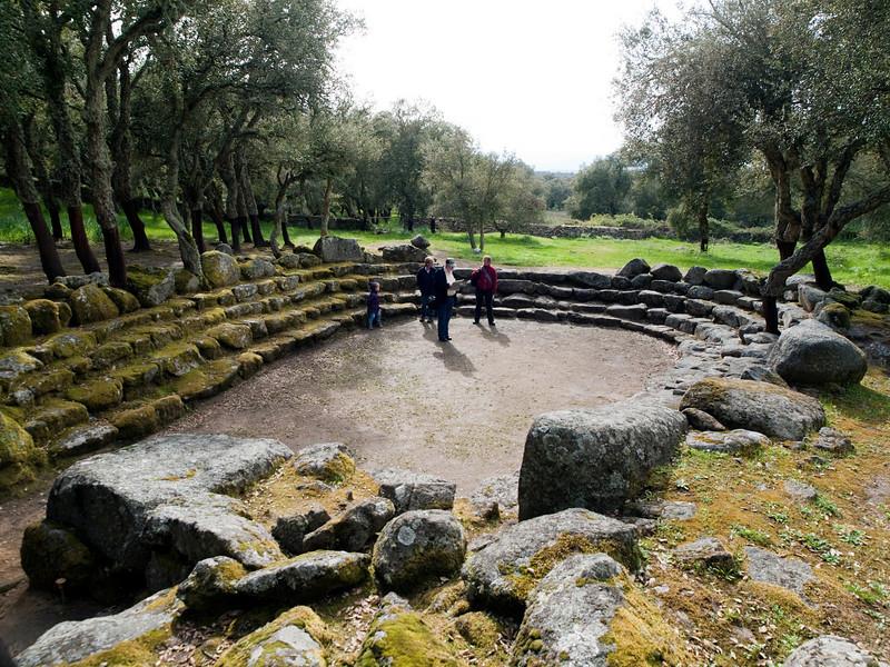 Su Romanzesu nuraghic complex, holy well, near Buddosu<br /> <br /> Olympus E-600 & Zuiko 12-60mm/2.8-4.0