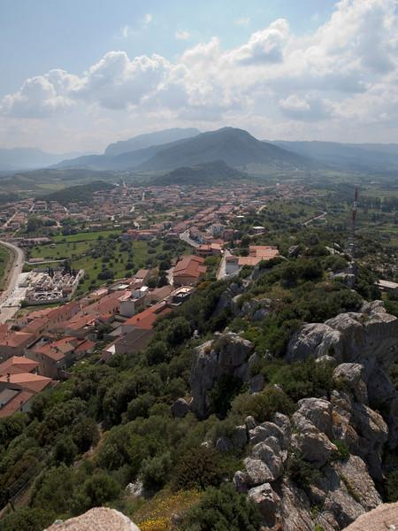 view from Castello della Fava over Posada in western direction<br /> <br /> Olympus E-600 & Zuiko 12-60mm/2.8-4.0