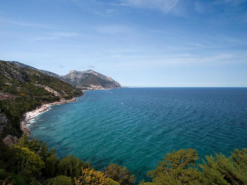 Coast south of Cala Gonone, eastern Sardinia<br /> Olympus E-420 & Zuiko 12-60mm/2.8-4.0