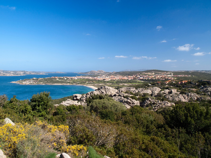 Palau, as seen from the fortress, La Maddalena on the left, Sardinia<br /> Olympus E-420 & Zuiko 12-60mm/2.8-4.0