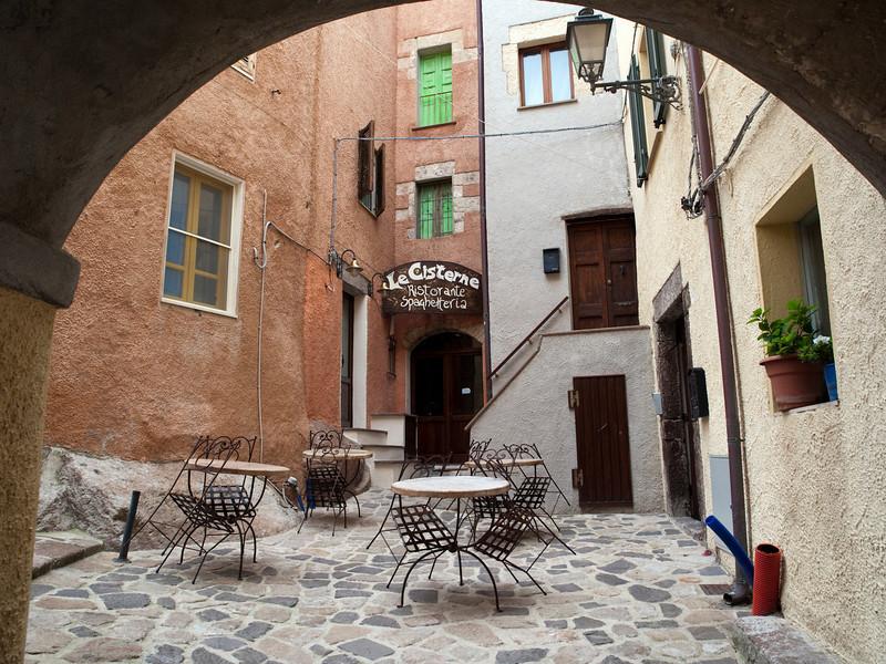 Le Cisterne, Castel Sardo, northern Sardinia<br /> Olympus E-420 & Zuiko 12-60mm/2.8-4.0