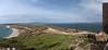 Capo San Marco, Sini Peninsula, southernmost tip near Tharros, western Sardinia, looking North<br /> 4 image stitch, Olympus E-420 & Zuiko 12-60mm/2.8-4.0