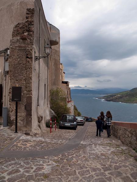 Castel Sardo, northern Sardinia<br /> Olympus E-420 & Zuiko 12-60mm/2.8-4.0