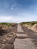 Roman street, ancient Tharros, Sardinia<br /> Olympus E-420 & Zuiko 12-60mm/2.8-4.0