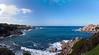 Capo Testa, Corsica in distance, northern Sardinia<br /> 3 images stitch, Olympus E-420 & Zuiko 12-60mm/2.8-4.0