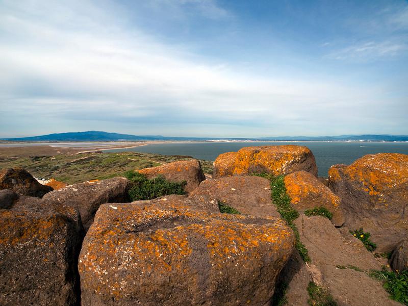Basalt boulders, Capo San Marco, Sardinia<br /> Olympus E-420 & Zuiko 12-60mm/2.8-4.0