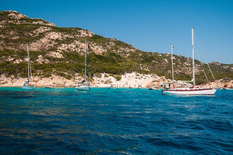 Archipelago of La Maddalena - Spargi Island, Cala Soraya
